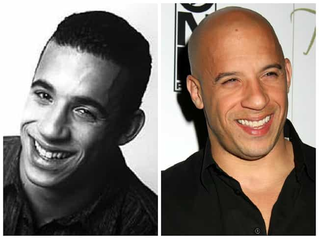 Vin Diesel is listed (or ranked) 4 on the list 25 Celebrities Rocking the Bald Look