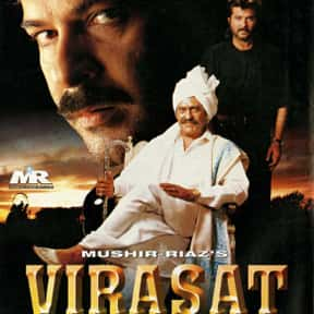 Virasat is listed (or ranked) 14 on the list The Best Bollywood Movies of All Time