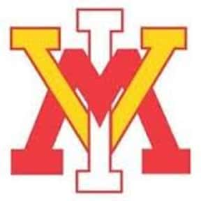 Virginia Military Institute is listed (or ranked) 8 on the list All SoCon Schools