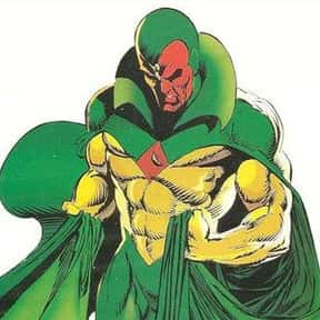 Vision is listed (or ranked) 20 on the list The Top Marvel Comics Superheroes