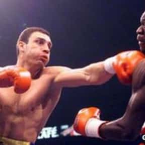 Vitali Klitschko is listed (or ranked) 10 on the list The Best Boxers of the 1990s