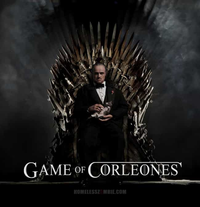 Vito Corleone is listed (or ranked) 2 on the list 26 Famous People Sitting On The Iron Throne