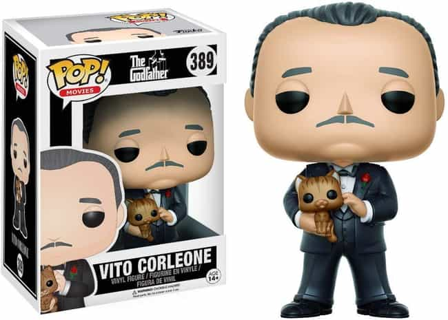 Vito Corleone is listed (or ranked) 3 on the list The Most Respectable Funkos For The Classy Film Buff