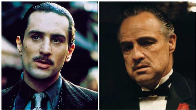 Vito Corleone is listed (or ranked) 8 on the list Actors Who Played the Same Character at Different Ages