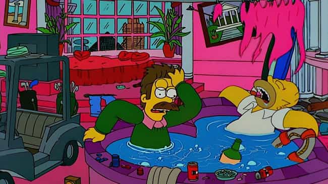 Viva Ned Flanders is listed (or ranked) 4 on the list The Best Ned Flanders Episodes of 'The Simpsons'