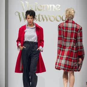 Vivienne Westwood is listed (or ranked) 22 on the list The Most Influential Fashion Designers Of All Time