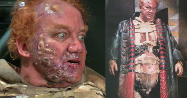 Vladimir Harkonnen is listed (or ranked) 3 on the list The Most Horrifying Special Effects Makeup From Non-Horror Movies