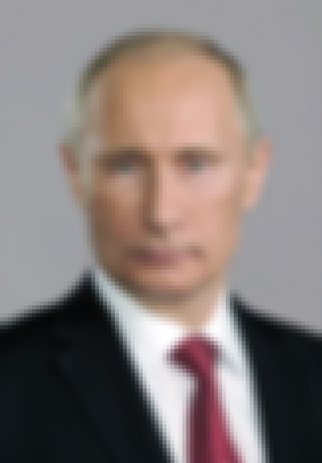 Vladimir Putin is listed (or ranked) 2 on the list List of Famous Prime Ministers
