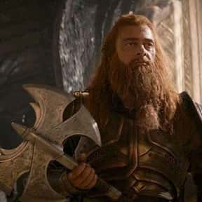 Volstagg is listed (or ranked) 19 on the list The Best Characters In The Thor Movies