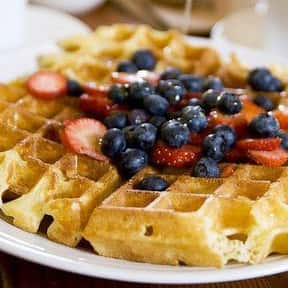 Waffle is listed (or ranked) 21 on the list The Best Healthy Breakfast Foods