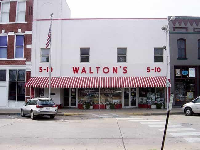 Wal-Mart (Walton's), Rogers, AR, 1962