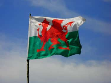 Wales is listed (or ranked) 1 on the list The Coolest-Looking National Flags in the World