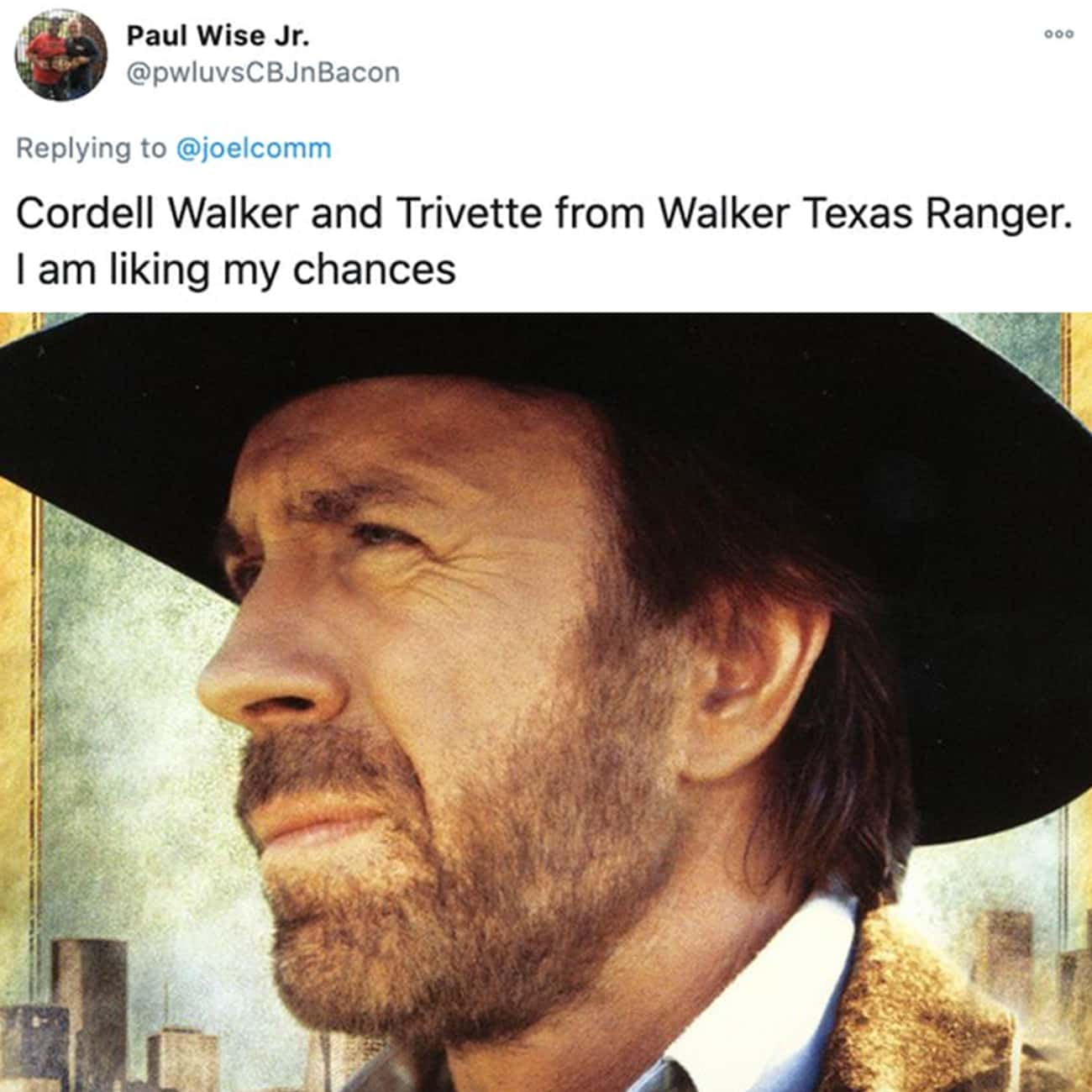 Texas Ranger Cordell Walker