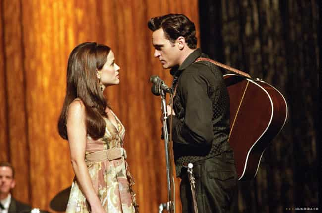 Walk the Line is listed (or ranked) 1 on the list The Greatest Movie Wedding Proposals