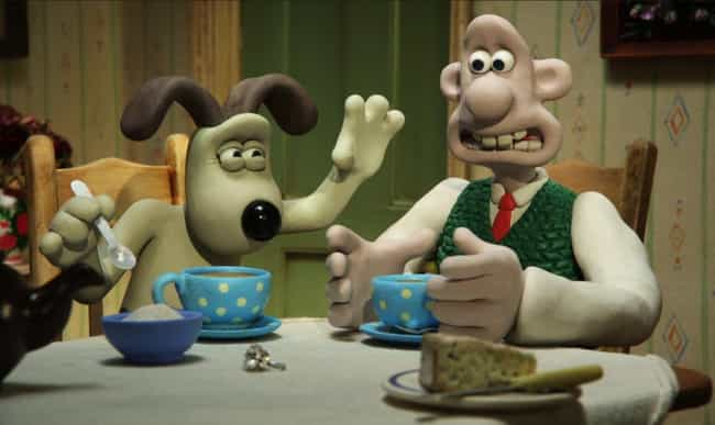 Wallace and Gromit is listed (or ranked) 3 on the list Excellent Animated Miniseries You Can Finish In One Sitting
