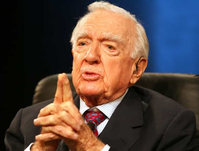 Walter Cronkite is listed (or ranked) 4 on the list Famous Male TV Anchors