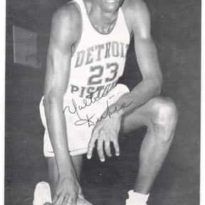 Walter Dukes is listed (or ranked) 11 on the list The Best Detroit Pistons Centers of All Time