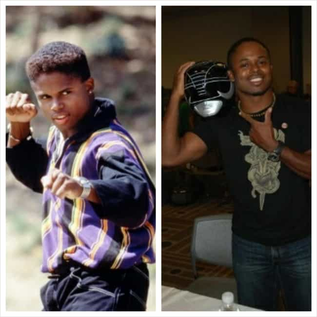 Walter Emanuel Jones is listed (or ranked) 4 on the list Power Rangers Then & Now