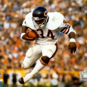 Walter Payton is listed (or ranked) 25 on the list The Best Football Players Ever