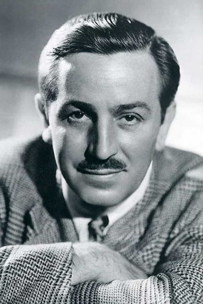 Walt Disney is listed (or ranked) 3 on the list 18 Celebrities Who Are Secretly Smokers