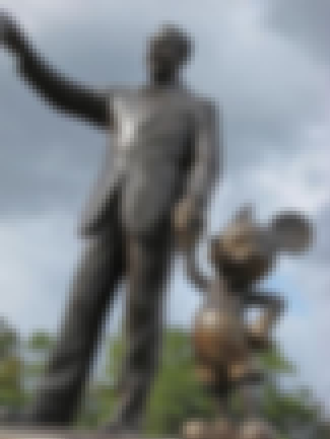 Walt Disney is listed (or ranked) 3 on the list The Weirdest Statues of Celebrities