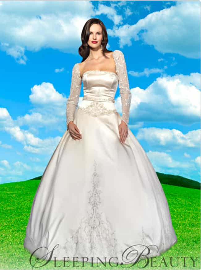 Sleeping Beauty Is Listed Or Ranked 1 On The List Disney Bridal Gowns