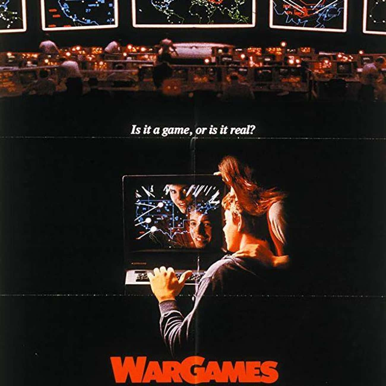 WarGames is listed (or ranked) 4 on the list The Best Movies About Playing Video Games