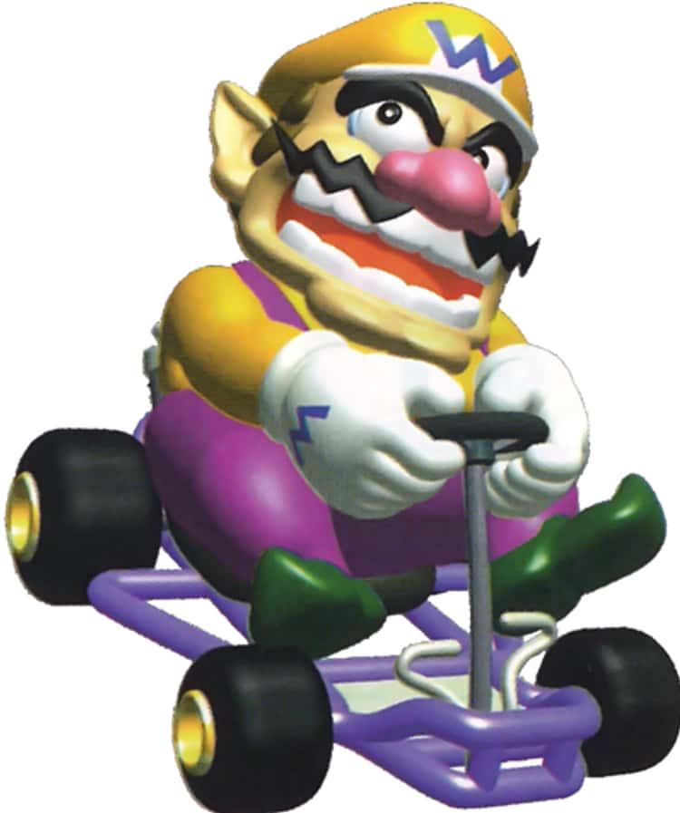 Each Mario Kart 64 Character S Actual Top Skill