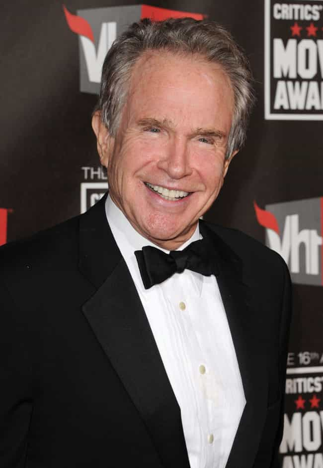 Warren Beatty is listed (or ranked) 4 on the list Men Who Carly Simon Has Dated