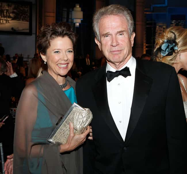 Warren Beatty is listed (or ranked) 27 on the list 48 Famous Couples with Huge Age Differences
