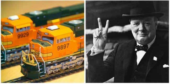 Warren Buffett is listed (or ranked) 4 on the list Famous Model Train Hobbyists