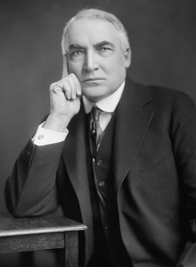 Warren G. Harding is listed (or ranked) 28 on the list Every U.S. President & Every Medical Problem They've Ever Had
