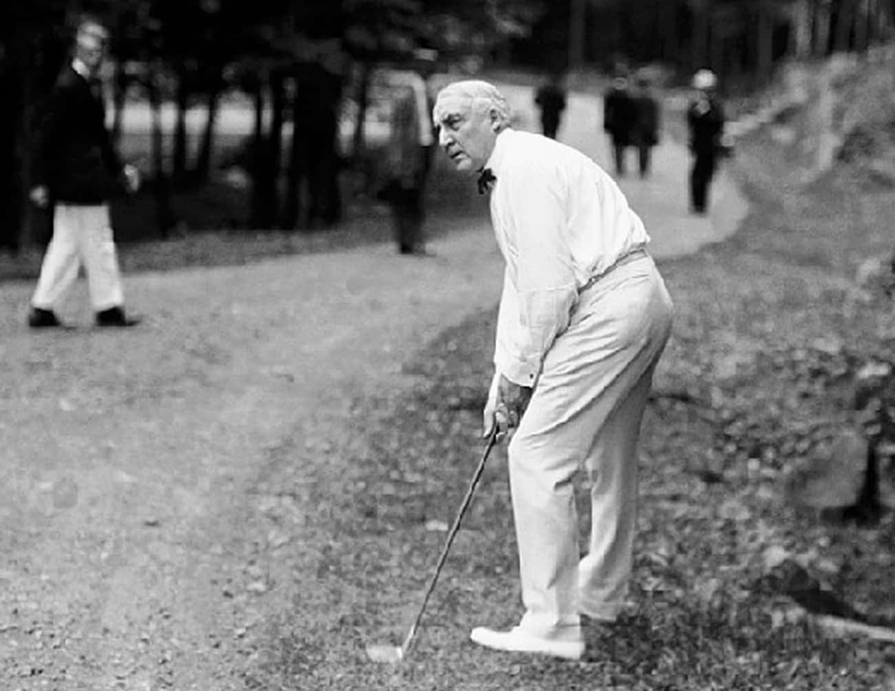 Warren G. Harding is listed (or ranked) 3 on the list All the Golfing Presidents