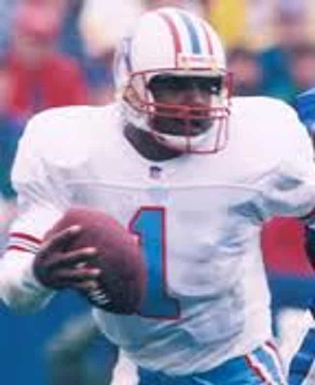 Warren Moon is listed (or ranked) 3 on the list The Greatest Houston Oilers of All Time