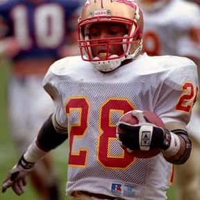Warrick Dunn is listed (or ranked) 5 on the list The Best College Running Backs of the 1990s