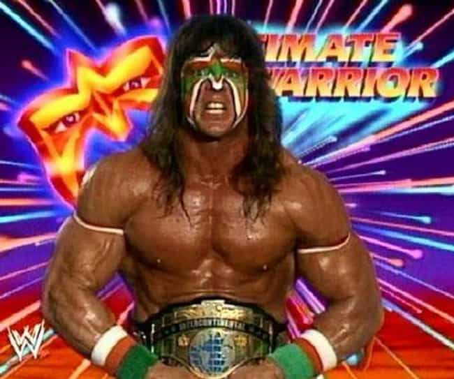 The Ultimate Warrior is listed (or ranked) 3 on the list The Best Face Paint in Wrestling History