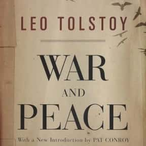 War and Peace is listed (or ranked) 3 on the list Books You'll Never Finish Reading