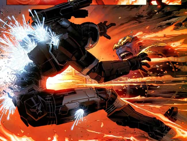 War Machine is listed (or ranked) 2 on the list How Marvel Characters Will Die In Infinity War (According to the Comics)