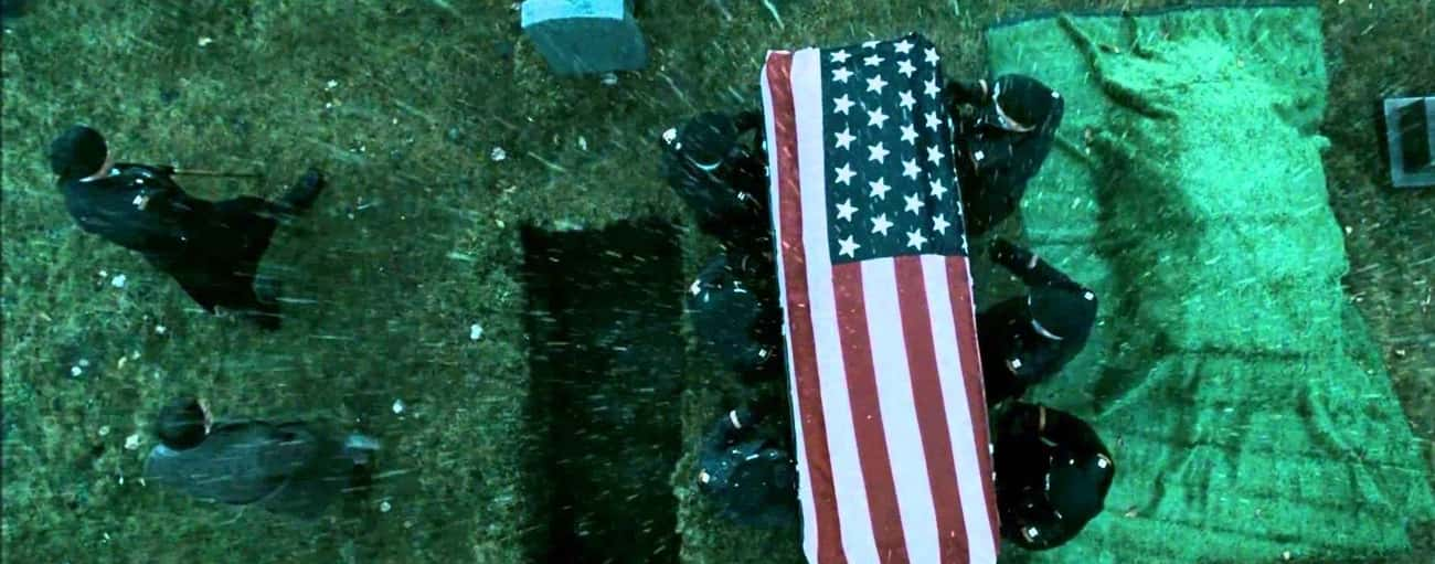 The US Flag Has 51 Stars In &# is listed (or ranked) 3 on the list Insane Movie Details You May Have Missed On Your First Watch