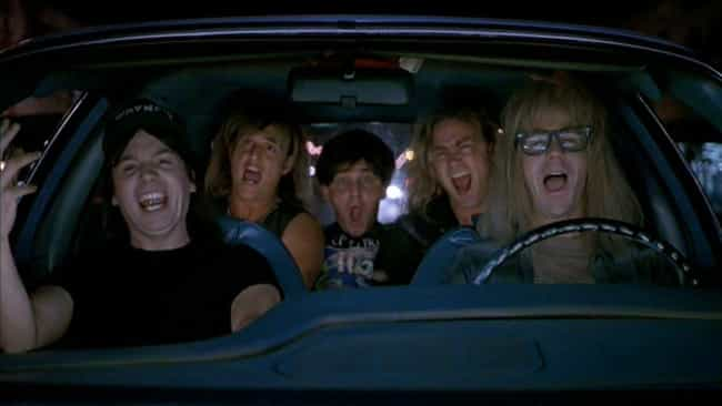 Wayne's World is listed (or ranked) 2 on the list The Best Musical Numbers In Movies That Aren't Musicals