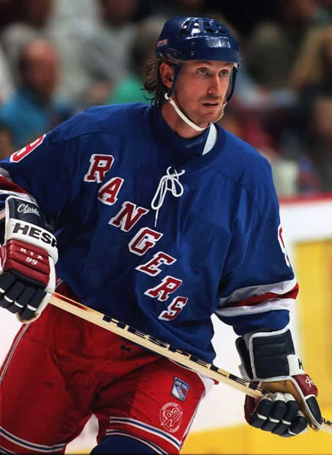 Wayne Gretzky is listed (or ranked) 2 on the list Pro Athletes Who've Peed Themselves