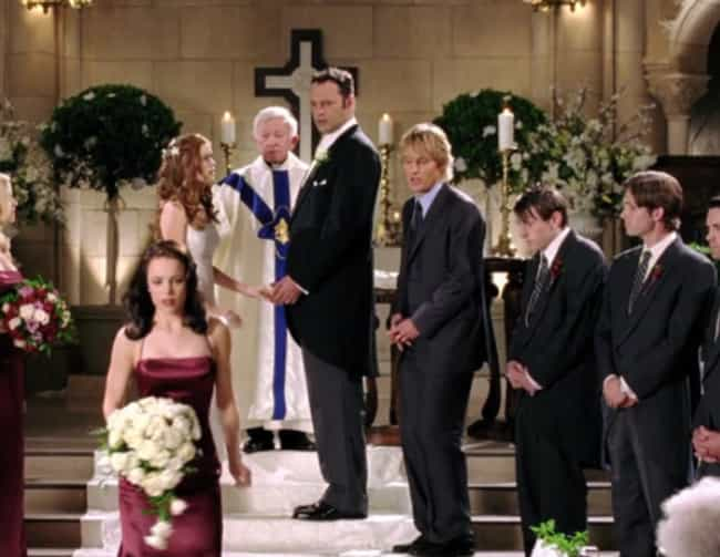 Wedding Crashers is listed (or ranked) 3 on the list The Best Wedding Objection Scenes in Film History
