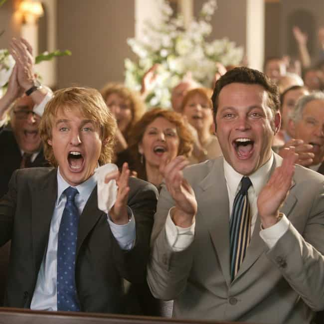 Wedding Crashers is listed (or ranked) 2 on the list Plot Holes That Will Ruin Your Favorite Romantic Comedies