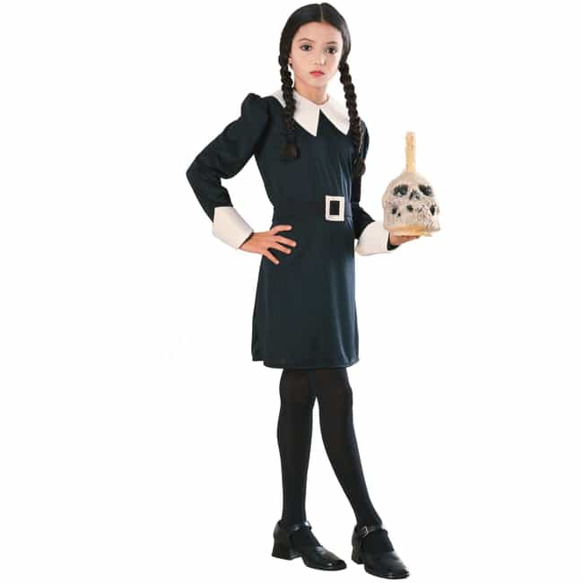 wednesday addams is listed or ranked 1 on the list halloween costumes for girls