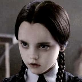 Wednesday Addams is listed (or ranked) 3 on the list The Greatest Kid Characters in Film