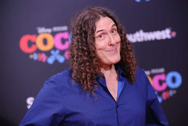 """""""Weird Al"""" Yan... is listed (or ranked) 4 on the list Celebrities With Surprising College Degrees"""