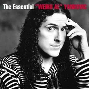 """Weird Al"" Yankovic is listed (or ranked) 1 on the list RCA Records Complete Artist Roster"