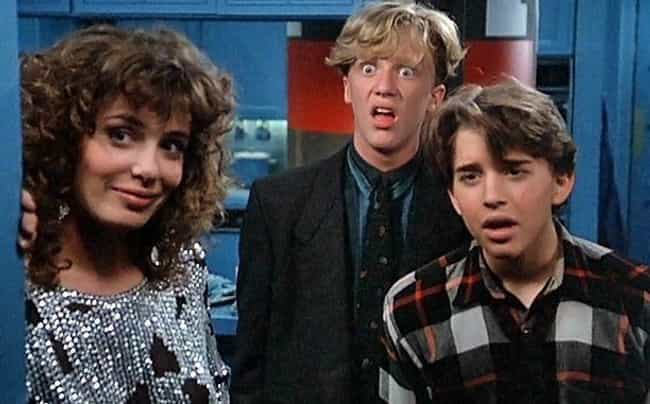 Weird Science is listed (or ranked) 3 on the list 12 Most Memorable Movie And TV Romances Between Humans And Machines