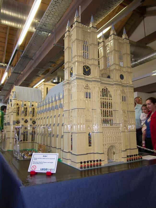 Westminster Abbey is listed (or ranked) 2 on the list 31 Amazing LEGO Versions of Famous Monuments