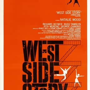 West Side Story is listed (or ranked) 3 on the list The Best Musical Love Story Movies